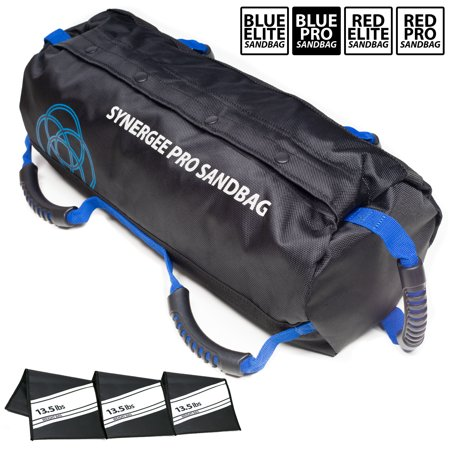 Synergee Pro Buff Blue Adjustable Fitness Sandbag With 3 Filler Bags Adjustable Up To 40lbs Heavy Duty Fitness Weight Bag Walmart Canada