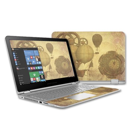 Skin Decal Wrap For Hp Envy X360 15  2015  Laptop Cover Skins Steam Punk Paper
