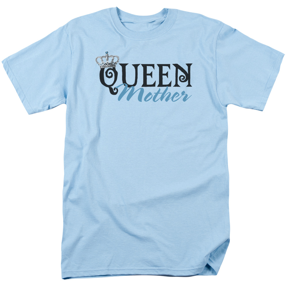 Queen Mother Mens Short Sleeve Shirt