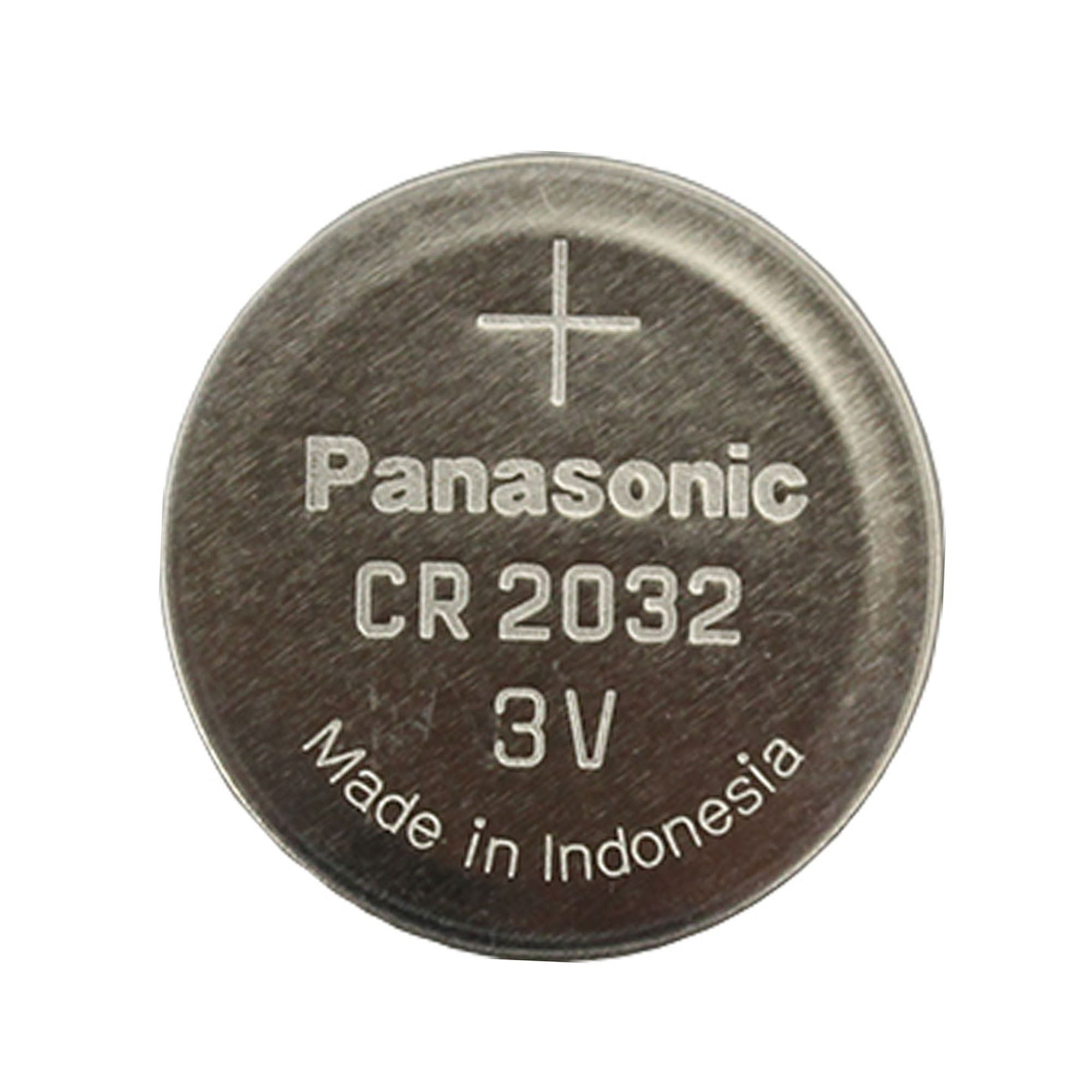 cr2032 panasonic 3 volt lithium coin cell battery. Black Bedroom Furniture Sets. Home Design Ideas