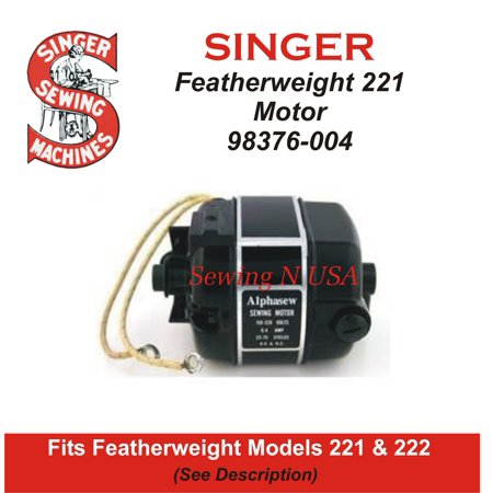 Singer Featherweight 221 & 222 Motor 98376-001 (Motors For Crafts)