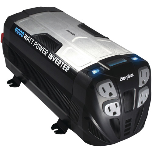 Energizer EN4000 12-Volt 4,000-Watt Power Inverter by Energizer