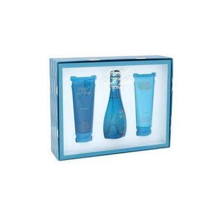 Zino Davidoff  Cool Water Women's 3-piece Gift Set Zino Davidoff Cool Water