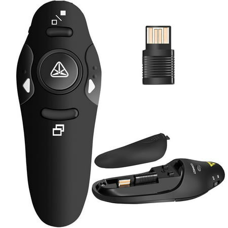 2.4GHz Wireless Presenter Remote Presentation USB Control PowerPoint PPT Clicker