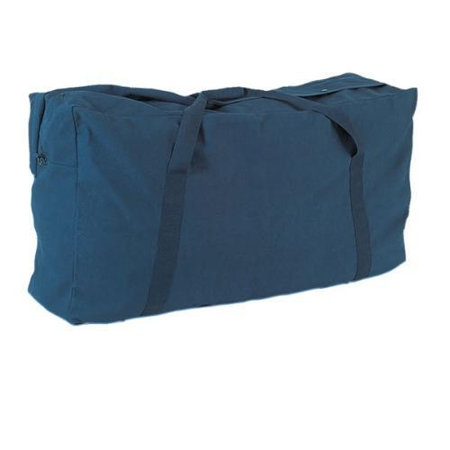 Champion Sports Oversized Zippered Duffle Bag in Navy by Champion Sports