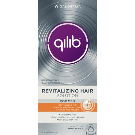 Revitalizing Spray Solution - Qilib Revitalizing Hair Solution for Men, 2.7 Oz