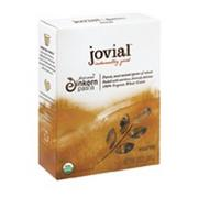 Jovial 100% Organic Whole Grain Einkorn Rigatoni 12 Oz. (Pack of 12)