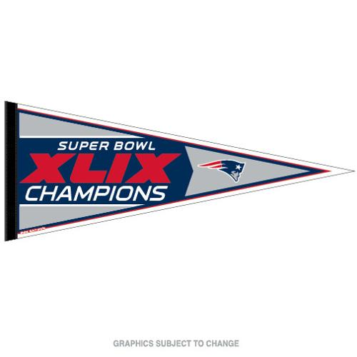 New England Patriots Official NFL 30 inch  Super Bowl 49 Champions Pennant by Wincraft
