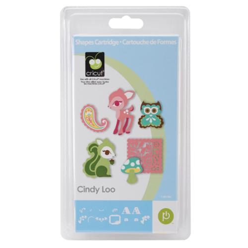 Cricut Cindy Loo Shape Cartridge-