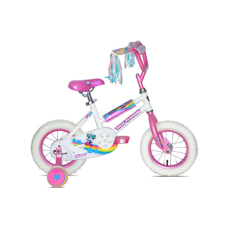 Kent 12 in. Girls Best Friends Bike - White