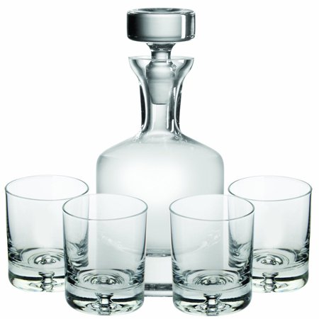 Ravenscroft Crystal Buckingham 32 oz Whisky Decanter 5-piece Gift Set,
