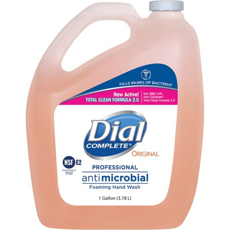 - Dial, DIA99795, Complete Prof Foaming Hand Soap Refill, 1 Each, Pink