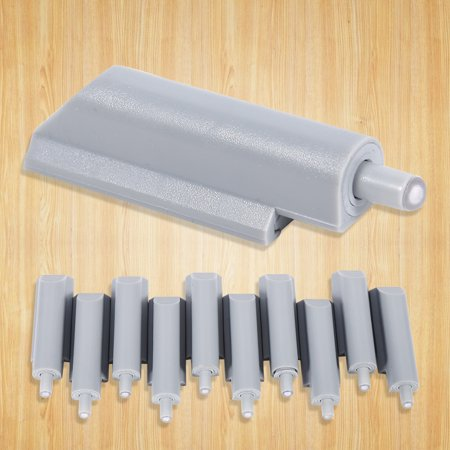 10pcs Abs Case Door Cabinet Drawer Hinge Push To Open System Damper Buffer Catch Plastic Tip