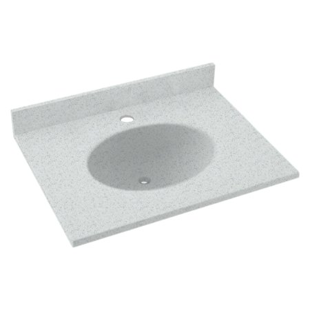 Swanstone 25w X 19d In Ellipse Solid Surface Vanity Top