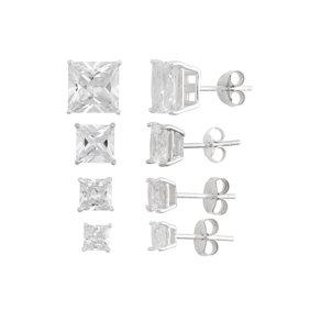 Unpossible Cuts Gold Mirror Lightning Bolt Acrylic Earrings Jewelry Com