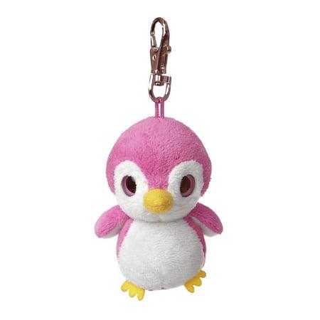 KooKoo YooHoo Plush Pink Penguin Clip On by Aurora - 29064