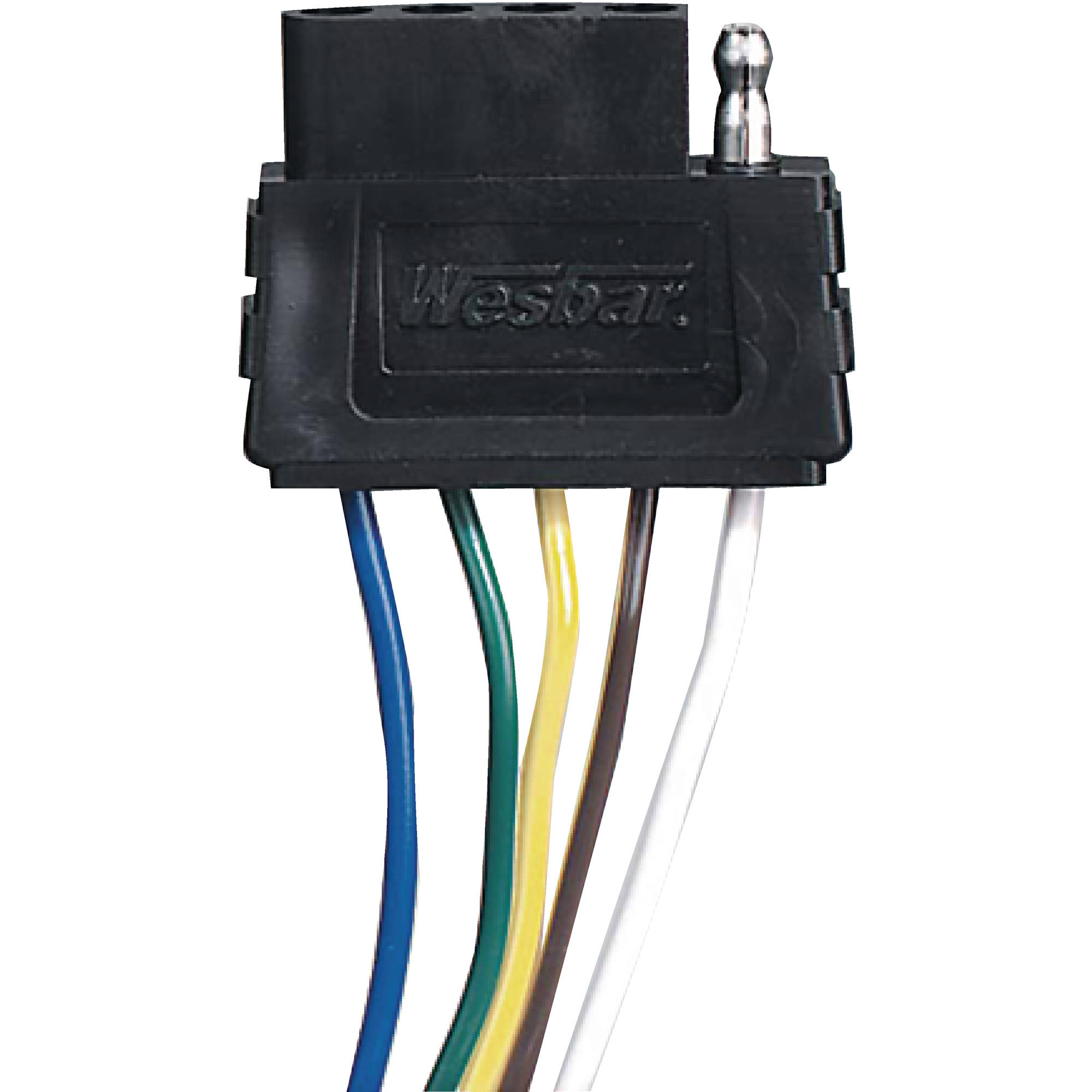 Wesbar 6 Pin Wiring Harness Diagram Automotive Electricalwesbar 707273 5 Way Trailer Light Wire 6u0027 Trunk Connector