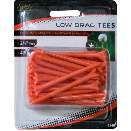 "Club Champ Low Drag Tee, 2-3/4"",  Orange"
