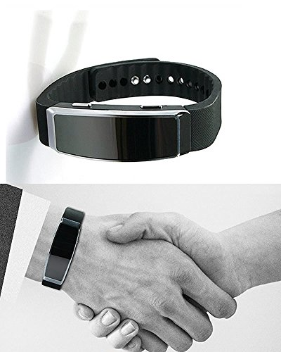Next Generation 007 James Bond Style 8GB Wristband Digital Voice Recorder Styled as Fitness Band is Actually... by Exclusively from Spy-MAX Brands