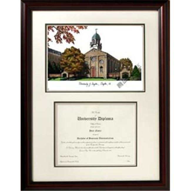 Campus Images OH994V 18'' x 24'' University of Dayton Scholar Frame