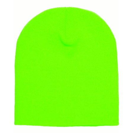A Product of Yupoong Adult Knit Beanie - SAFETY GREEN - OS  Saving and  Discount on bulk 9bea6b089fd