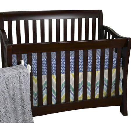 Cotton Tale Designs Zebra Romp 3 Piece Crib Bedding Set