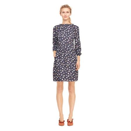 Rebecca Taylor  - Holly Flower Print Silk Dress - Regular - 10](Holly Golightly Dress)