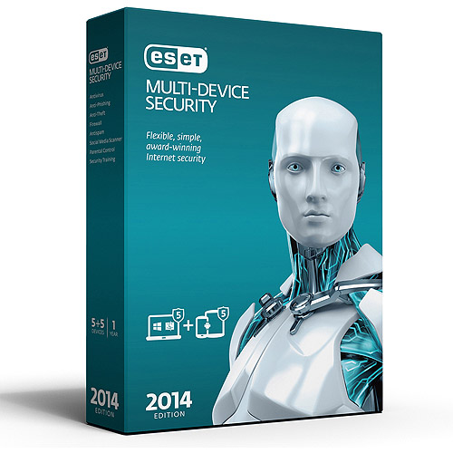 ESET Multi-Device Security 2014 Edition (PC/Mac/Android)