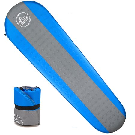 CAMTOA Self Inflating Sleeping Pads, Inflatable Camping Mat -Lightweight & Compact Foam Padding/Waterproof - Ideal for Camping Hiking Backpacking