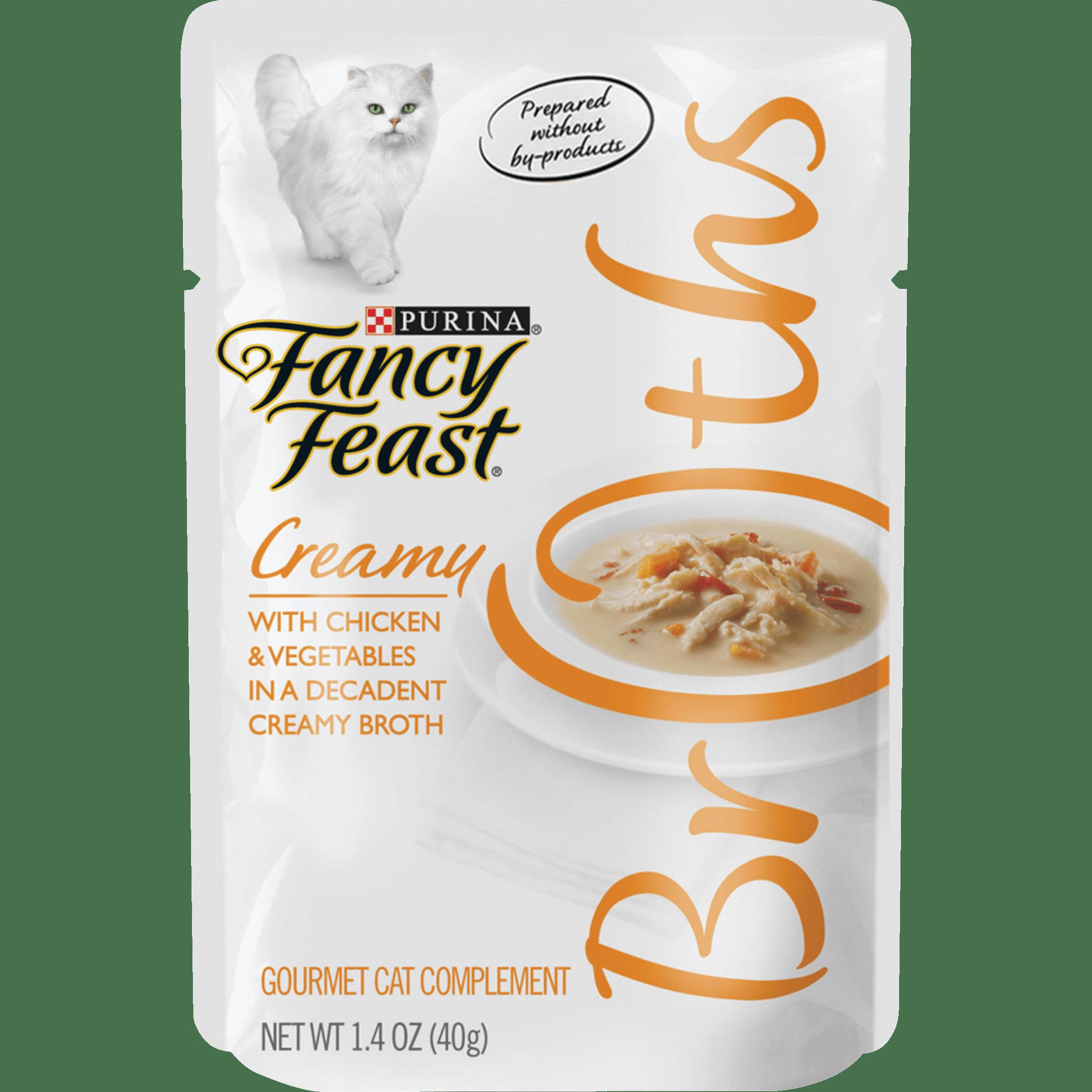 Wet Cat Food Complement Broths Creamy