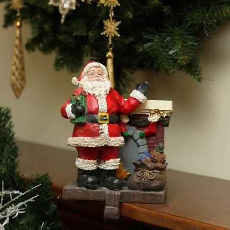 Northlight Seasonal Santa Claus Chimney Christmas Stocking Holder ()