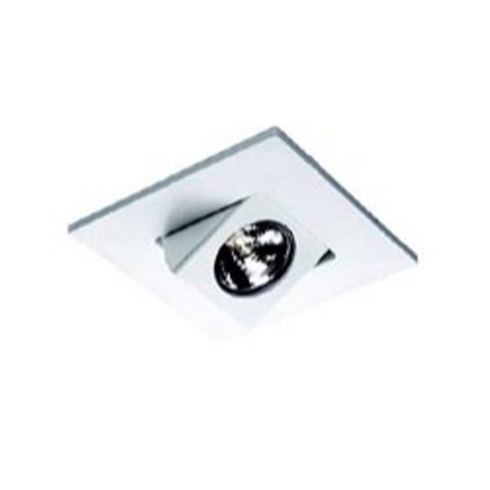 WAC Lighting Premier 4 inch Low Voltage Trim White Lighting Fixture