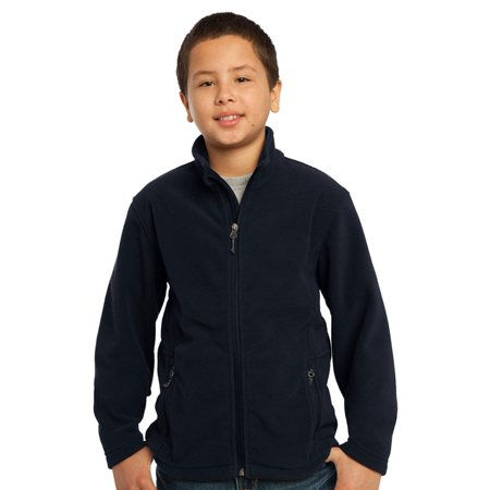 Port Authority Youth Pocket Zipper Soft Fleece Jacket