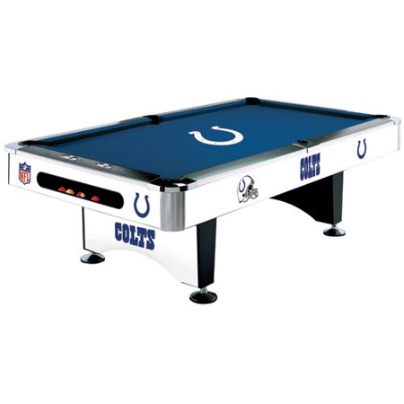 Nfl Indianapolis Colts Pool Table 8 Foot With Logo Cloth