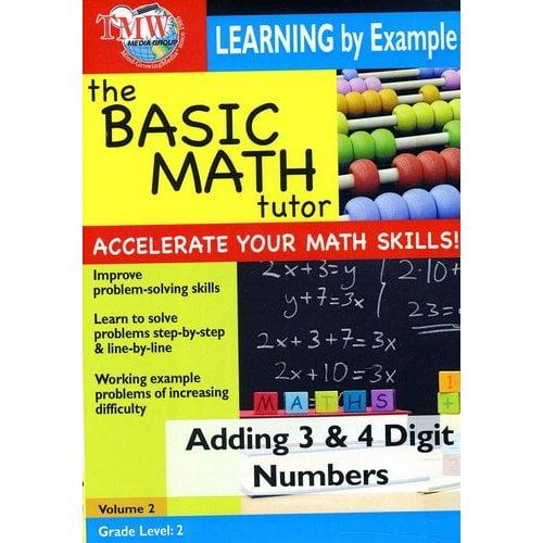 Basic Math Tutor: Adding 3 & 4 Digit Numbers by