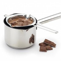 SUPERHOMUSE Stainless Steel Chocolate Melting Pot Double Boiler Milk Bowl Butter Candy Warmer Pastry Baking Tools