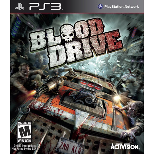 Blood Drive (PS3) - Pre-owned