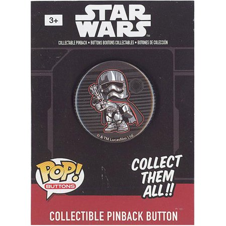 Funko Collectible Pinback Buttons - Star Wars Episode 7 - CAPTAIN PHASMA (1.25 inch) - Episode 7 Star Wars
