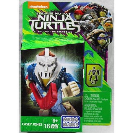 Teenange Mutant Ninja Turtles Out of The Shadows Casey Jones Figure..., By Mega Bloks Ship from US - Tmnt Casey Jones 2017