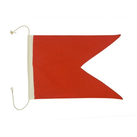 Letter B Cloth Nautical Alphabet Flag Decoration
