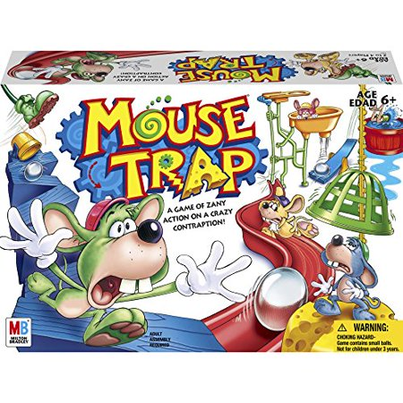 Spring Game Trap (Mouse Trap Game)