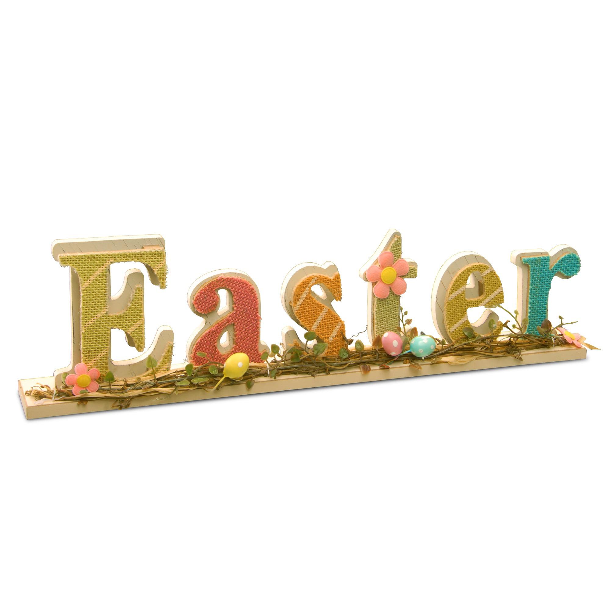 "18"" Easter Sign Room Decor"
