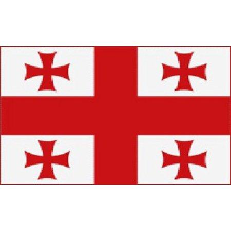 3X5 The Country Of Georgia Flag Georgian Banner Pennant New
