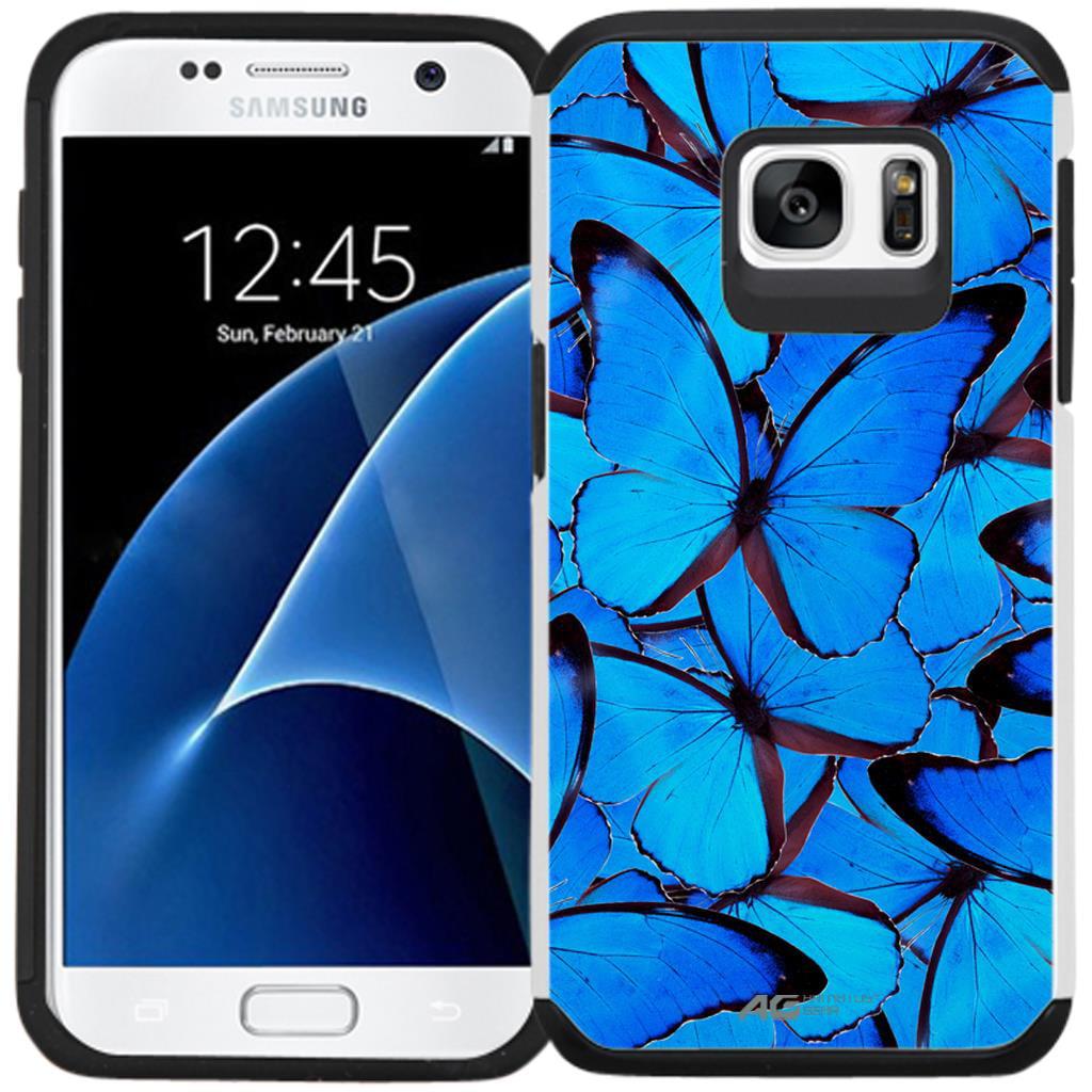 Galaxy S7 Case - Armatus Gear (TM) Slim Hybrid Armor Case Protective Cover for Samsung Galaxy S7 (2016 Release)