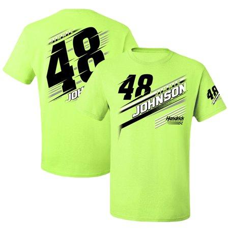 Jimmie Johnson T-Shirt - Neon Green - Jimmie Johnson Light