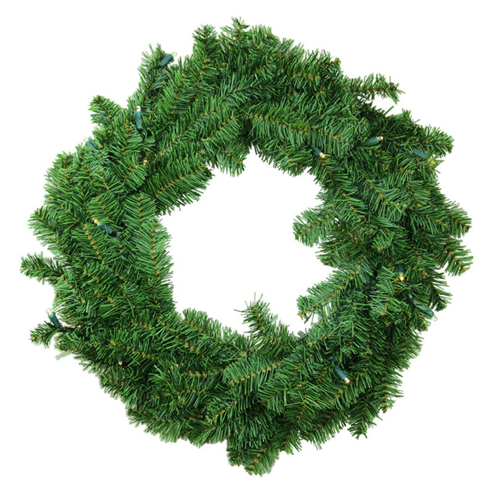 Darice Battery Operated LED Canadian Pine Christmas Wreath