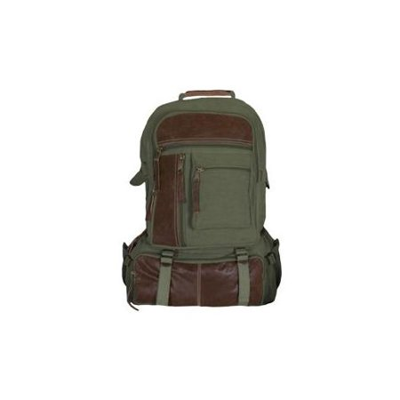 Fox Outdoor Retro Cantabrian Excursion Rucksack, Olive Drab 099598437701