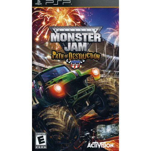 Monster Jam: Path of Destruction (PSP)