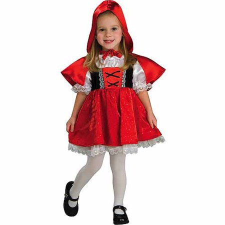 Little Red Riding Hood Toddler Halloween Costume