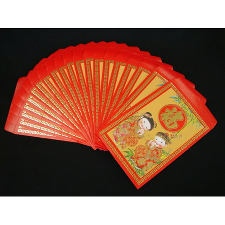 Pack Of 40PCS Colorful Chinese New Year Money Envelopes Hong Bao Lucky Money Bag - Red Envelopes Chinese New Year